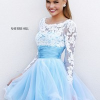 Sherri Hill Short Dress 21234 at Prom Dress Shop