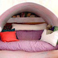 Inspirational Small Spaces: Cozy Reading Nooks | Apartment Therapy Los Angeles