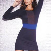 Motel Long Sleeve Bodycon Dress - very.com