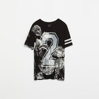 NUMBERS AND FLOWERS T-SHIRT