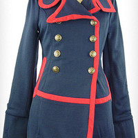 Hello Captain! Sailor Coat | PLASTICLAND