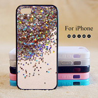 Glitter,iPhone 5 case,iPhone 5C Case,iPhone 5S Case, Phone case,iPhone 4 Case, iPhone 4S Case,Case
