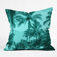 Deb Haugen Aloha Morning Outdoor Throw Pillow