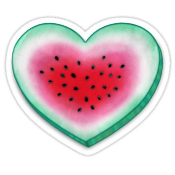 Summer Love - Watermelon Heart