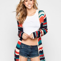 FULL TILT Womens Hooded Wrap Sweater