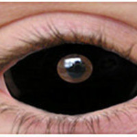 Black Sclera Halloween Contacts | Theatrical Contact Lenses | Special Effect Lenses - ClearlyContacts.ca