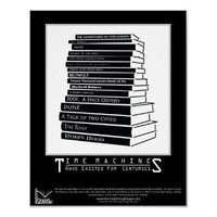Time Machines Poster from Zazzle.com