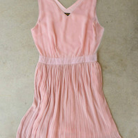 Pink & Wisp Dress [4406] - $36.00 : Vintage Inspired Clothing & Affordable Dresses, deloom | Modern. Vintage. Crafted.