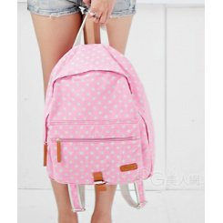 Wholesale Nifty little dots of Japanese backpack TW-2001PR - Lovely Fashion