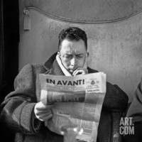 Albert Camus Photographic Print at Art.com