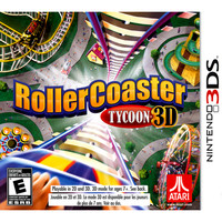 Roller Coaster Tycoon 3D PRE-OWNED (Nintendo 3DS)