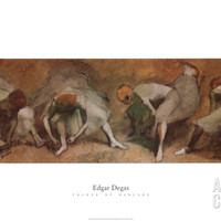 Frieze of Dancers Art Print by Edgar Degas at Art.com