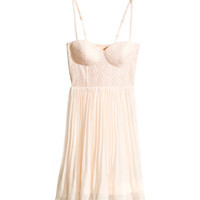 H&M - Bustier Dress - Light pink - Ladies