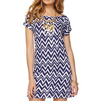 Palmer Short Sleeve T-Shirt Dress - Lilly Pulitzer