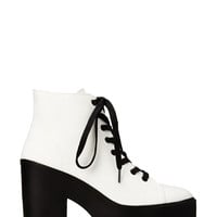 Standout Canvas Booties