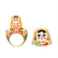CUSP | Accessories | Jewelry | All Jewelry | Nesting-Doll Ring <B>(Haute Hunter Pick!)</B>