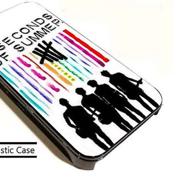 5 sos colorfull customized for iphone 4/4s/5/5s/5c , samsung galaxy s3/s4/s5 and ipod 4/5 cases