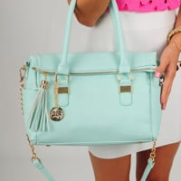 Carry On Purse: Mint