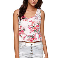 LA Hearts Crop Ruffle Hem Tank at PacSun.com