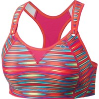 Moving Comfort Women's Rebound Racer Printed Sports Bra