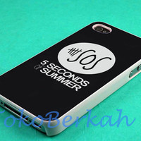 5 second of summer 5sos logo case iphone 4/4s case, iphone 5 case, iphone 5s case, iphone 5c case samsung galaxy case, galaxy s5 case