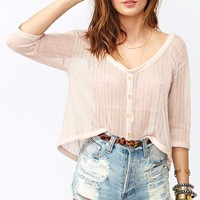 Sweet Crop Top in  What's New at Nasty Gal