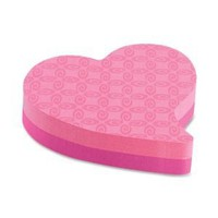 Heart post-its 	 - Oh So Girly!