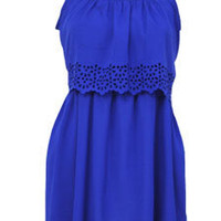 Cutout Trim Dress :: Dots.com :: Affordable women??s clothing &amp; fashion accessories in sizes