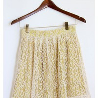 Sunny Lace Skirt