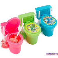 Sour Flush Candy Toilets: 12-Piece Box