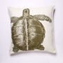 Thomas Paul Turtle Linen Pillow - Lichen