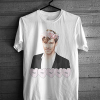Benedict Cumberbatch Flower Crown Tshirt