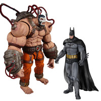DC Collectibles Batman Arkham Asylum Bane vs Batman 2 Pack Action Figure Set