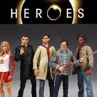 Heroes Collectible Action Figures Mint Series 1 From Classic Hit Tv Show On NBC