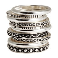 10-pack rings - from H&M