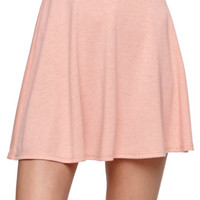 Nollie Jersey Knit Skater Skirt - Womens Skirt -