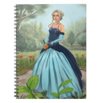 Flower in the Garden - Notebook by Adrienn Ecsedi