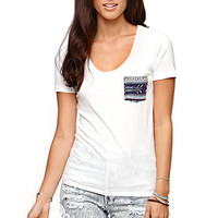 Nollie Short Sleeve Scoop T-Shirt - Womens Tee -