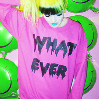 WHATEVER FOREVER SWEATER â?? NIKKI LIPSTICK