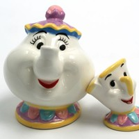Mrs. Potts and Chip - Salt & Pepper Shakers