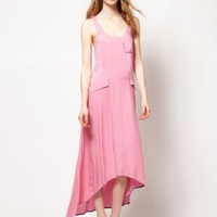 Warehouse Proportion Maxi Dress - Basadress.com
