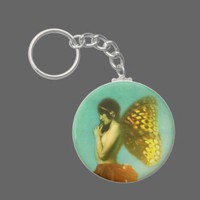 The Fairy Girl Keychain from Zazzle.com