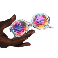 PIXEL KALEIDOSCOPE GLASSES