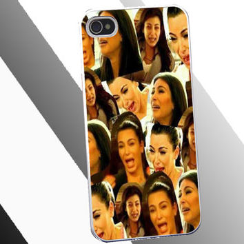 Kim kardashian crying collage cover for from lakilakistudio on - Kim kardashian crying collage ...