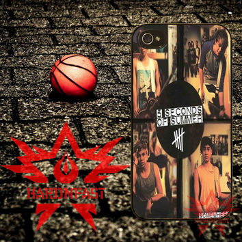 5SOS Somewhere New iPhone 4 4s 5 5s 5c and Samsung Galaxy S2 S3 S4 Case