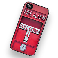iPhone Case Fire Alarm iPhone Hard Case / by TheCuriousCaseLLC