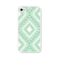 Geometric Phone Case - Mint Green Tribal Geometric iPhone 4 / 4s - 5 / 5s - 5c Case - iPhone 5c Case - iPhone 5 Case - iPhone 4s Case 4