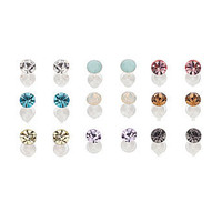 Pastel stud earring multi pack - Earrings - Jewellery  - Accessories - Dorothy Perkins