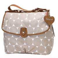 Babymel Satchel Diaper Bag - Fawn Dot