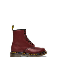 Dr. Martens Iconic 8 Eye Boot in Red